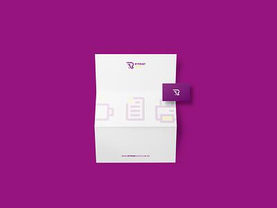 RT PrintShop Gráfica Rápida branding logo design vector logo identity branding icon design