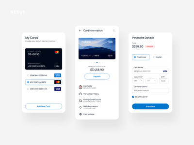 UI Experiments clean ecommerce adobe xd app business ui