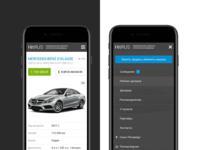 HitRus: Car page & Menu