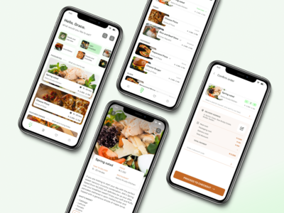 Food delivery app logistics delivery food figmadesign figma