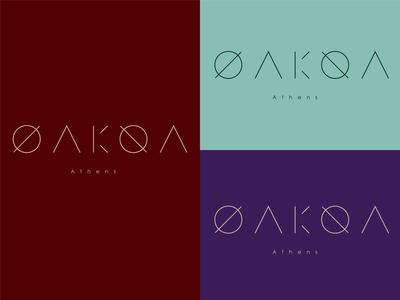 OAKOA - Fashion brand wordmark Logo wordmark logo wordmark fashion logo fashion icon design dailylogochallenge dailylogo logo