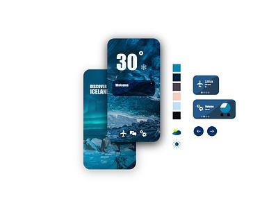 UI Trip Kit flat app icons illustration vector branding user inteface ui design color palette layout design website concept website design ux designer ux  ui uxui ux design