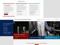 Music Grant Program Homepage