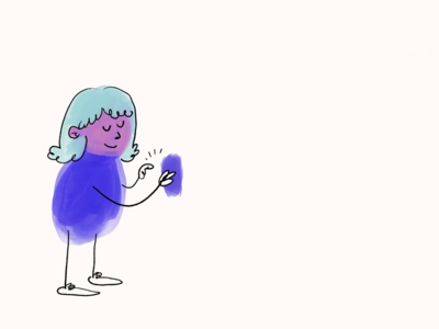 Just tapping away carousel page header hero jumbotron right orientation hero illustration device iphone woman on phone woman illustration girl feedback happy lonely busy tap phone tapping phone