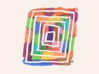 Felt tip rectangle