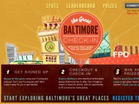Great Baltimore Check-In