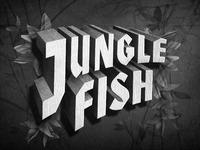 Junglefish title card homeworkbw