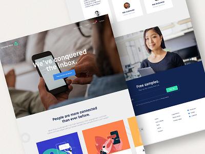 We deliver email web design branding website