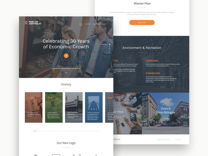 Anniversary Site ux ui web design website