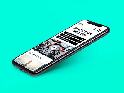 Push Digital - coming soon responsive mobile teaser coming soon push digital web design