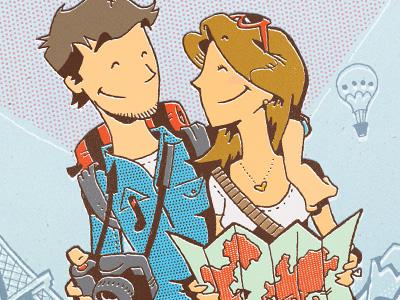 Valentine's Day illustration valentine