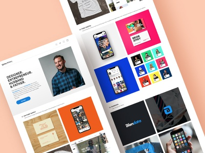 Fresh new logo web branding design portfolio