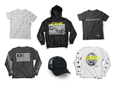 Poolhouse Merch ideas cap shirt hoodie poolhouse logo design merch