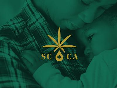 Flower Power design cannabis marijuana south carolina identity branding logo illustration