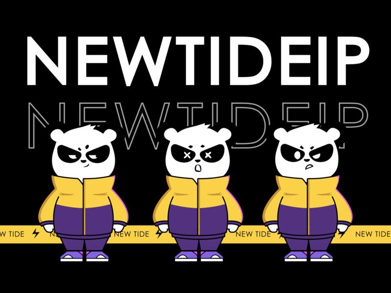 """""""新潮""""IP形象设计1.3版本 panda ui"""