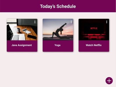 Schedule netflix yoga java schedule figmadesign figma dailyui ux ui design