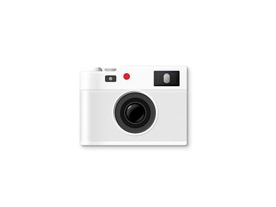 照相机拟物临摹(Camera mimicry) ui design cover design icon