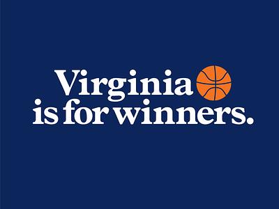 New Slogan basketball throwback champs natty finalfour hoops cavaliers virginia wahoowa hoos