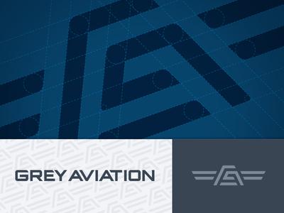 Grey Aviation Logo