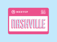 Dribbble Meetup Nashville 2013