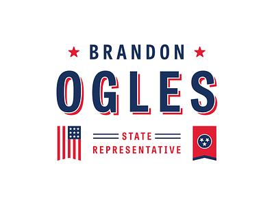 Logo stars campaign tn tennessee american america flag politics political