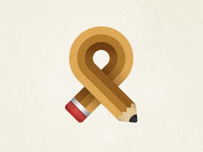 Pencil ribbon