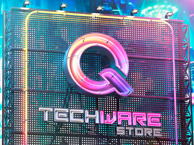 Qtechware neon sign 3d art design
