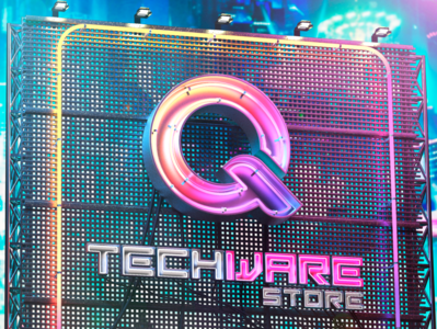 Qtechware neon sign 3d art design