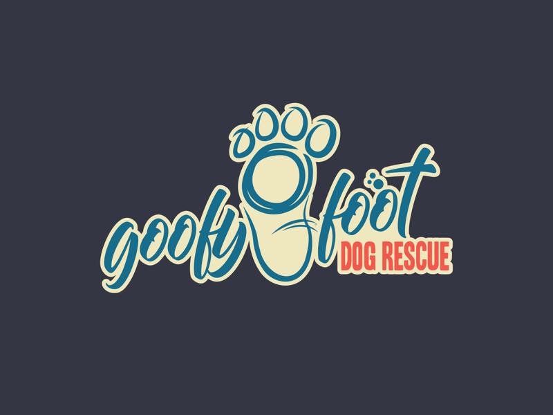 goofyfoot logo vector design illustration
