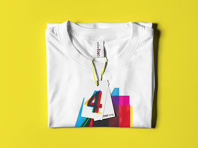 Color 4 logo t-shirt graphic design