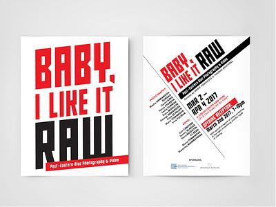 Baby, I Like It Raw / Post- Eastern Bloc Photography & Video russian logo invitation graphic design exhibition constructivism branding