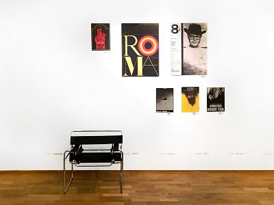 Curatorial Design for European Film Poster exhibit wall design mural graficky design grafika environmental graphics exhibit czech graphic design exhibition design curatorial design poster