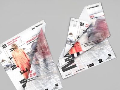 Momentum graphic design poster branding