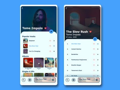 Soft UI Music App music app user interface ux mobile ui app typography vector mobile design design ui