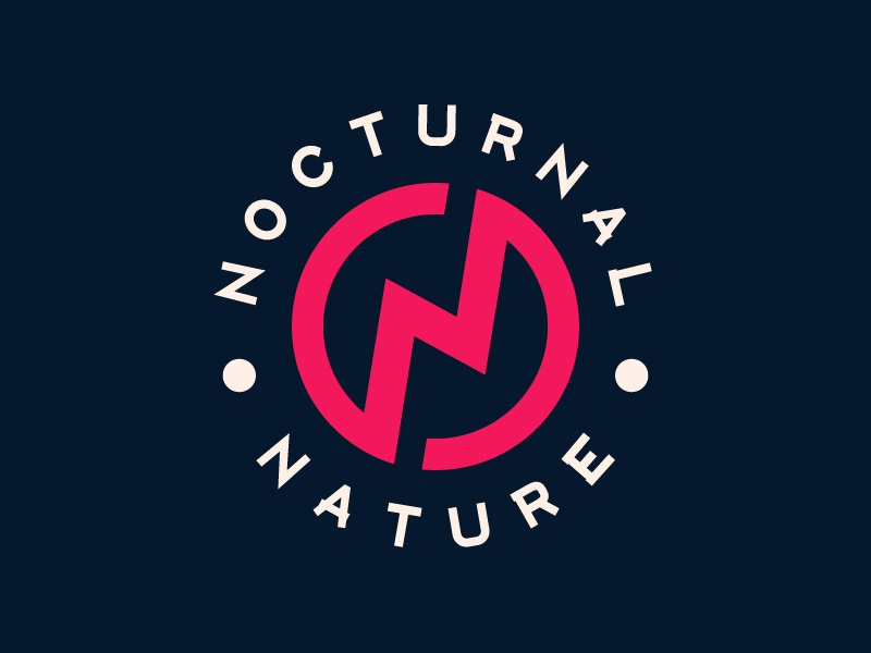 Image of: Design Nocturnal Nature Logo Shutterstock Nocturnal Nature Logo By Harry Ronchetti Dribbble Dribbble