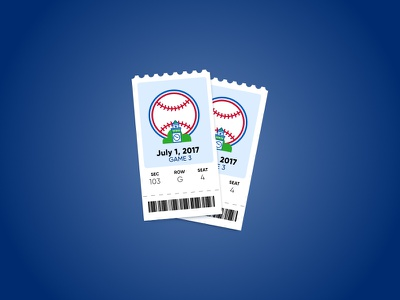 Baseball Tickets tickets ticket icon phillies sports stub retro mlb ticket baseball