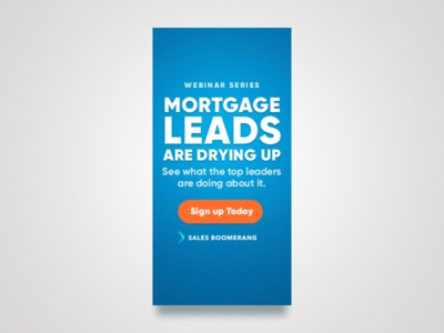 Webinar Banner Ad webinar drying up drying concept animation mortgage half page ad banner ad banner