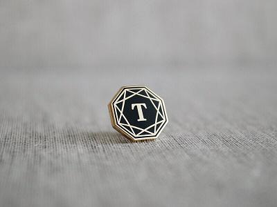 Official Pin logo mark tradesy swag pin