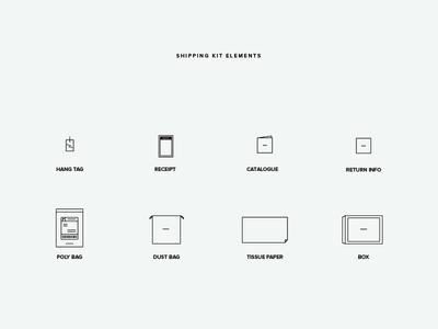 Shipping Kit Icons