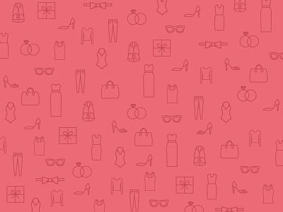 Fashion Pattern pattern pink fashion ecommerce style icons clothes shopping tradesy