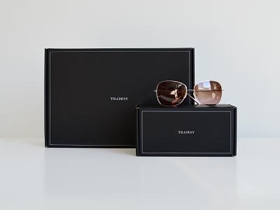 Tradesy packaging fashion branding apparel tradesy