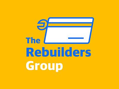 The Rebuilders Group repair credit card group rebuilders graphic design logo design minimal icon graphic typography branding logo illustration vector design