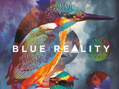 BLUE REALITY | album cover album metal music branding surreal art album art illustration art design illustration graphic design