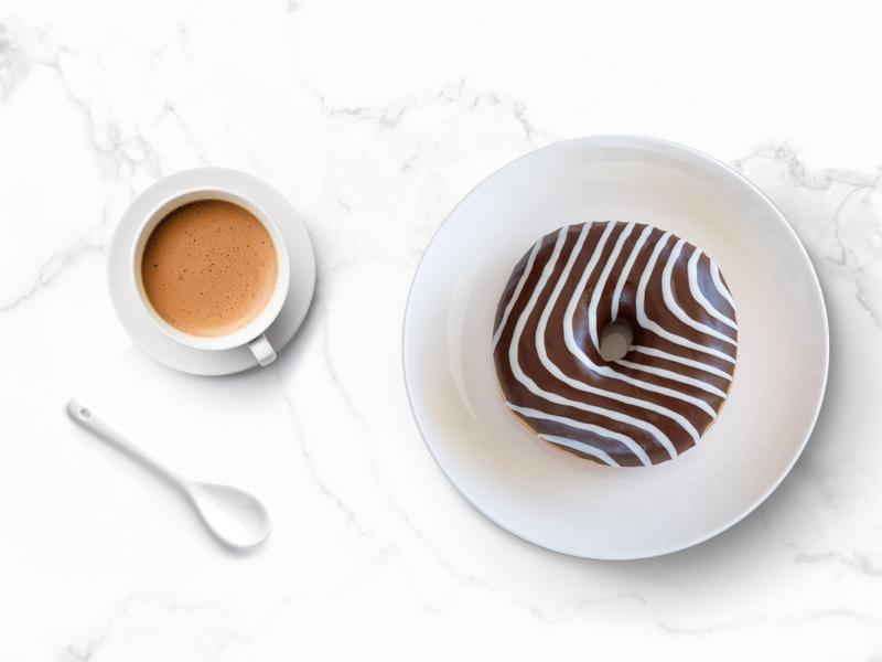 Urban Coffee Branding & Packaging designstudio delicious mininal white black brown line branding branded filter coffee americano latte coffee bar donuts donut coffee bean coffee shop coffee cup coffee