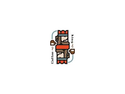 Logo design design coffee king logo