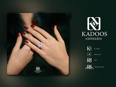KADOOS branding jewelry illustration design graphic design logo