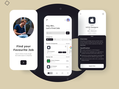 Job App Design new job appdesign job board jobs app job job apps job application job search jobs job app branding app app design ui design new web design ui ux web design ui ux design new design