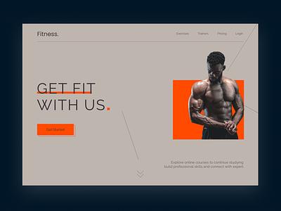 Fitness website fitness club fitness app fitness website design fitness website ui website web app design new web design design web design ui ux ui ux design new design