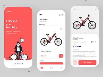 Bike Shop App bike sharing bike app bike shop ui new web design app design app website web design design ui ux ui ux design new design