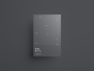 Design system promotional posters